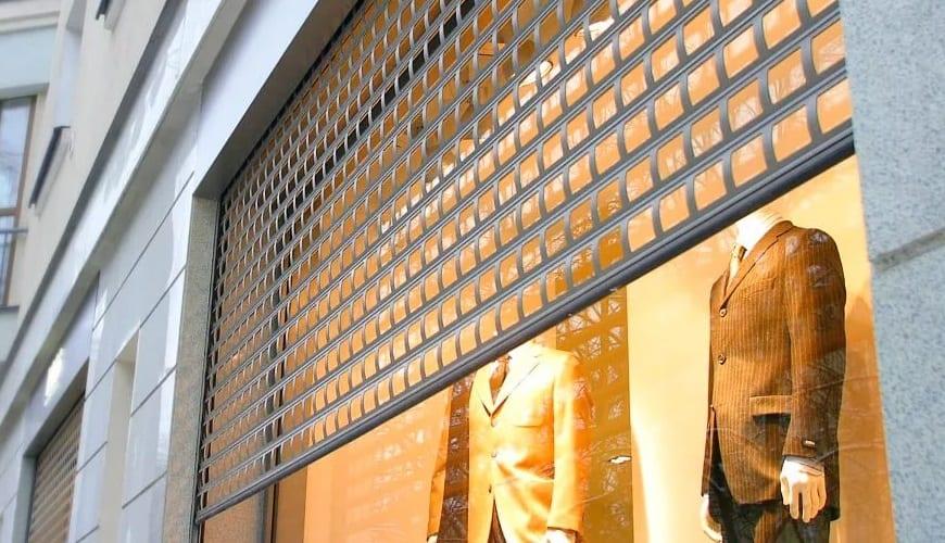 Роллетные решетки на окна