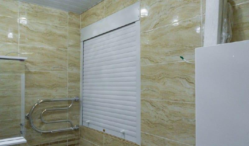 Рольставни для ванной комнаты