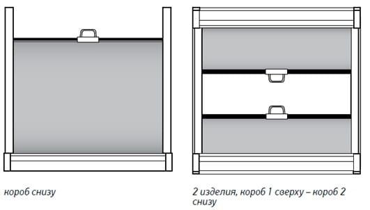 монтаж касстных рулонных штор
