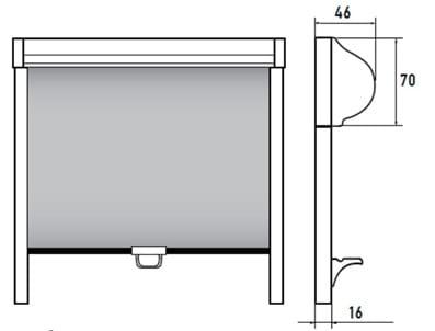 кассетные шторы с пим